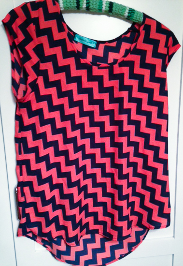 chevron shirt