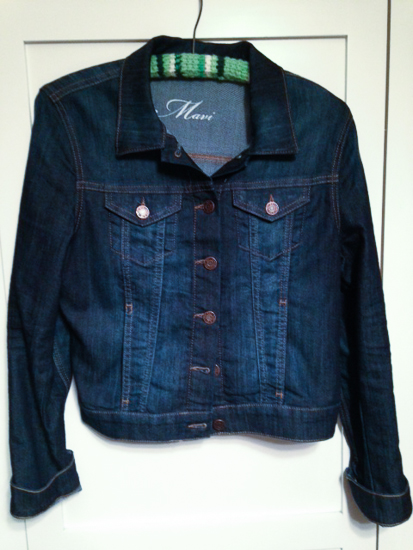 basic denim jacket from Stitchfix