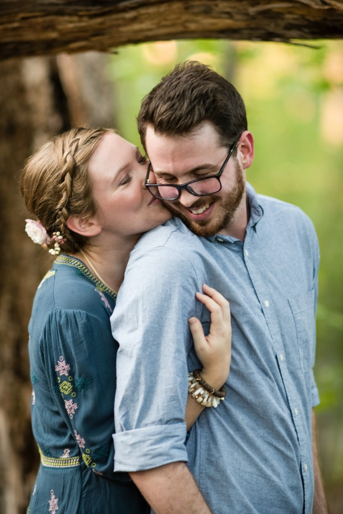 photo of couple embracing